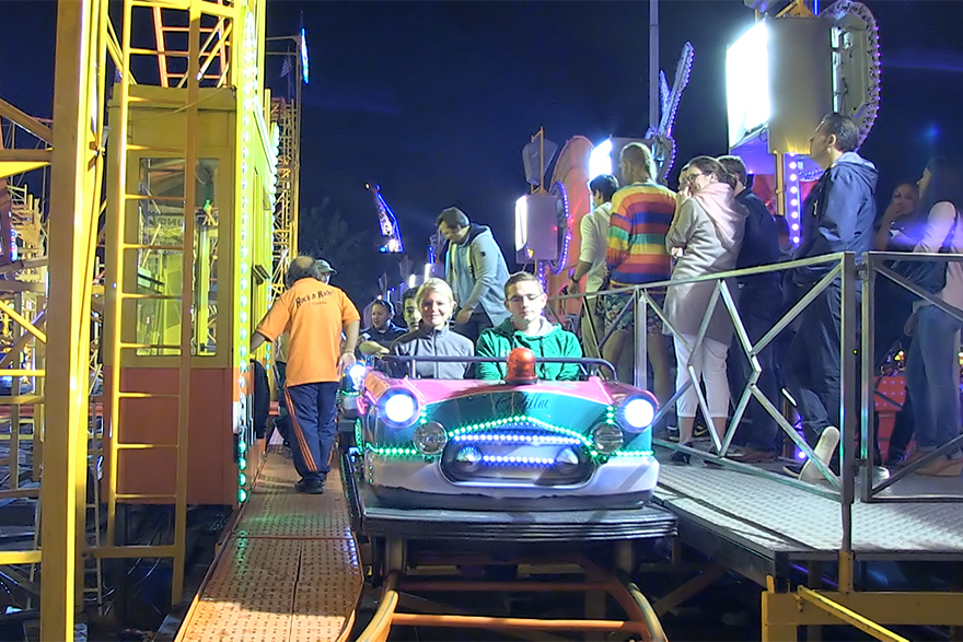 German Family Rollercoaster with individual cars | Vorlop ...